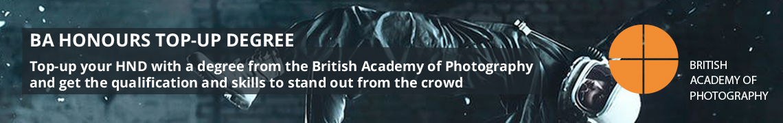 British Academy of Photography banner