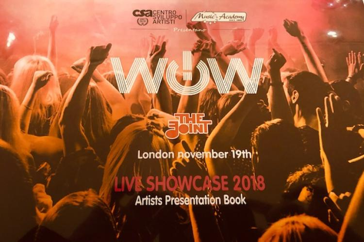 wow showcase for HN Music students in London