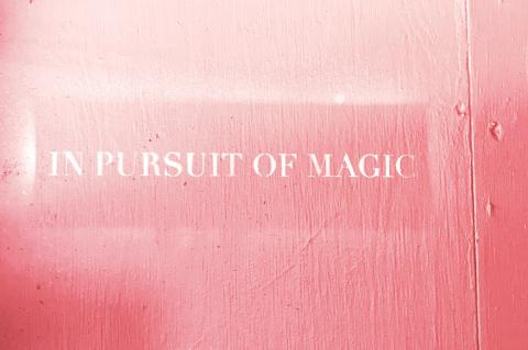 in pursuit of magic sign